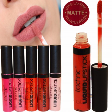 Technic Liquid Long Lasting Lipstick Matte and Gloss