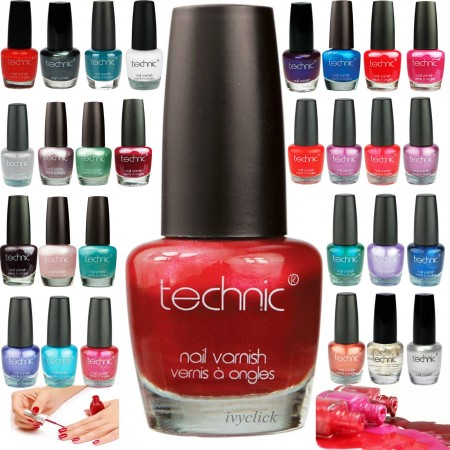 Technic 40 Nail Polish/ Varnish Colours