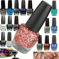 Technic Glitter Sparkle Nail Polish/Varnish 19 Colours