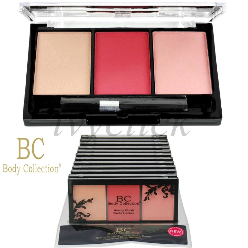 Body Collection Beauty Blush 3 Colours Blusher