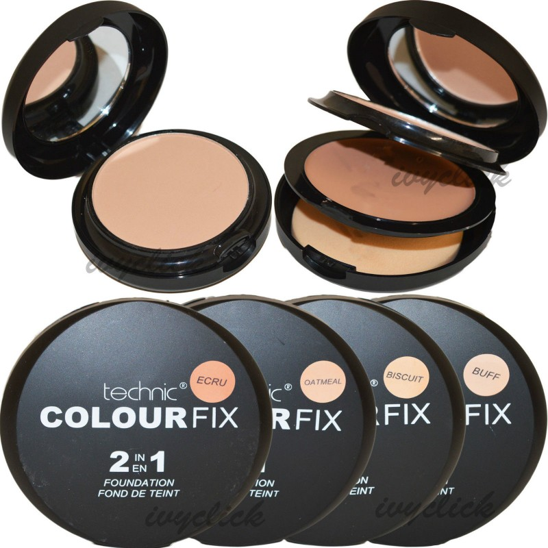 Technic Colourfix 2 In 1 Cream Foundation & Face Powder