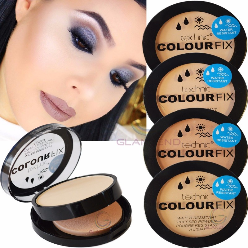Technic Colour Fix Water Resistant Pressed Powder