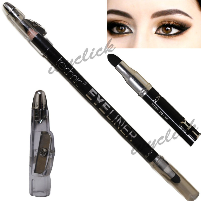 Technic Black Eyeliner with Smudger & Sharpener
