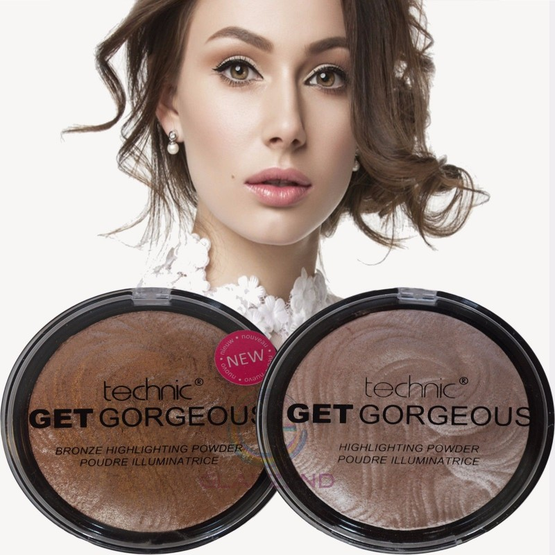 Technic Get Gorgeous Highlighting Bronze illuminating Pressed Powder
