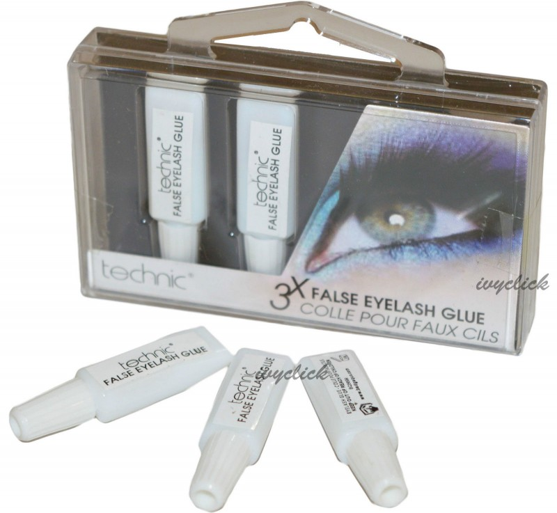 Technic 3 x Flase Eyelash Adhesive Glue